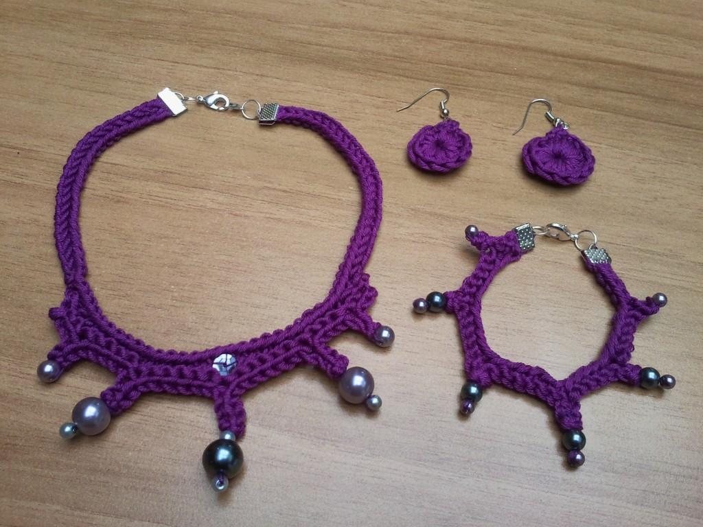 parure 3 violet
