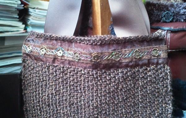 20140909-sac cabas marron doré