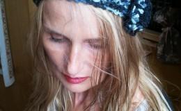 20140303-headband noir chiné
