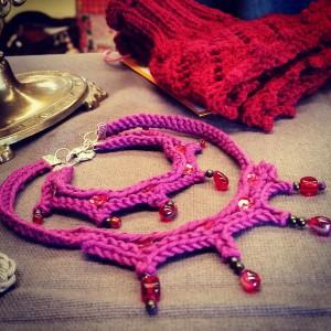Bijoux Purple red
