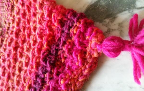 Bonnet rose orange